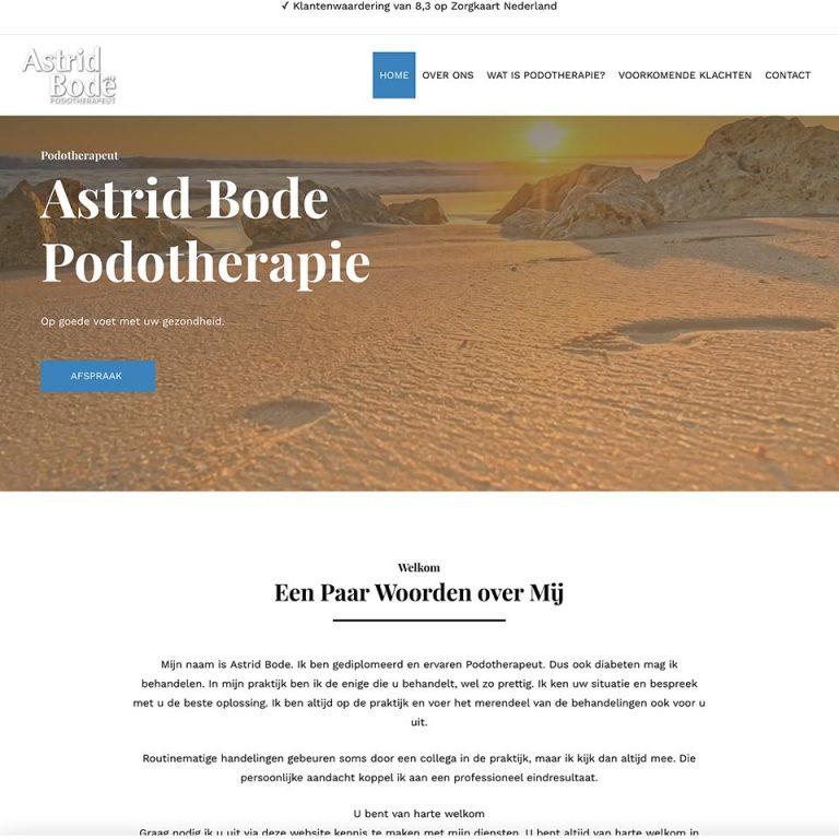Astrid Bode Podotherapie